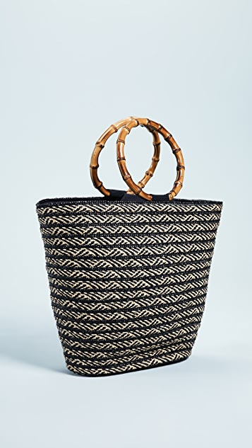 Caterina Bertini Hand Held Tote