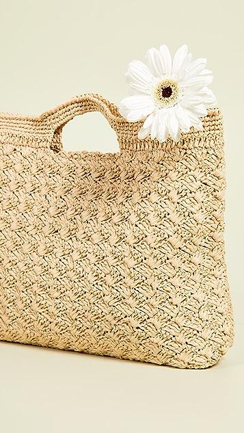 Caterina Bertini Плетеный клатч