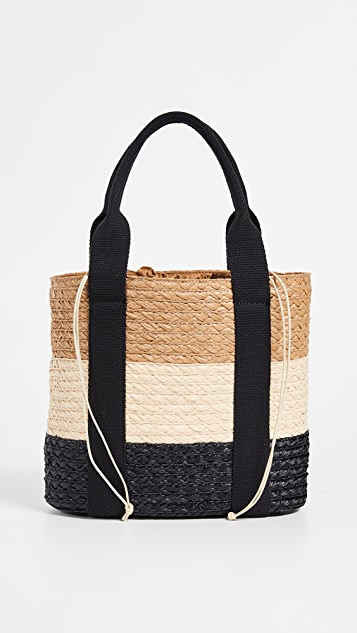 Caterina Bertini Stripe Tote