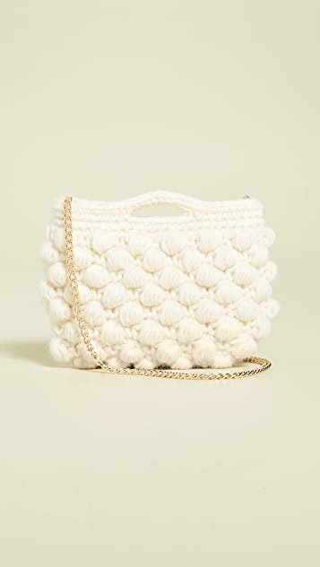 Caterina Bertini Woven Crossbody Bag