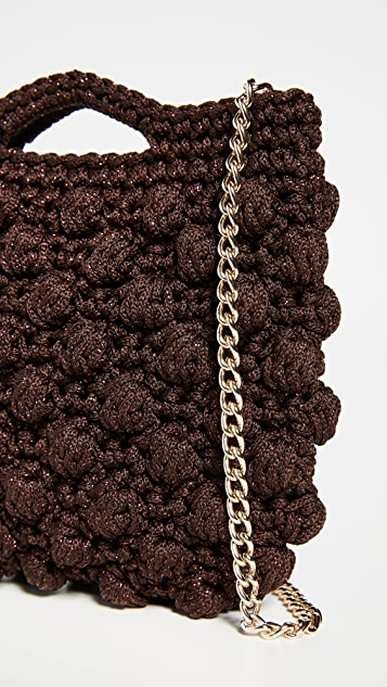 Caterina Bertini Ажурная сумка через плечо