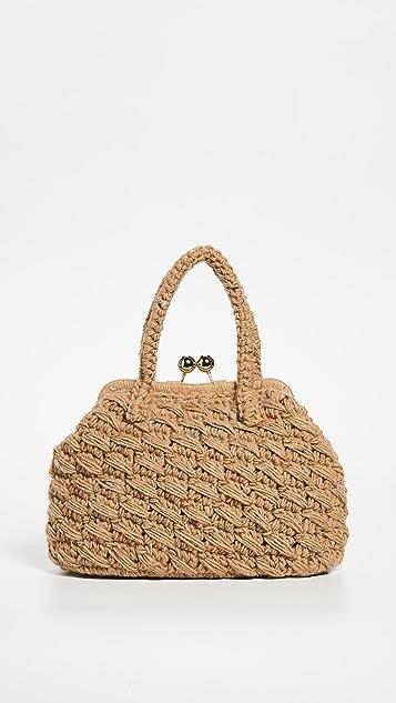 Caterina Bertini Плетеная сумка A-Frame