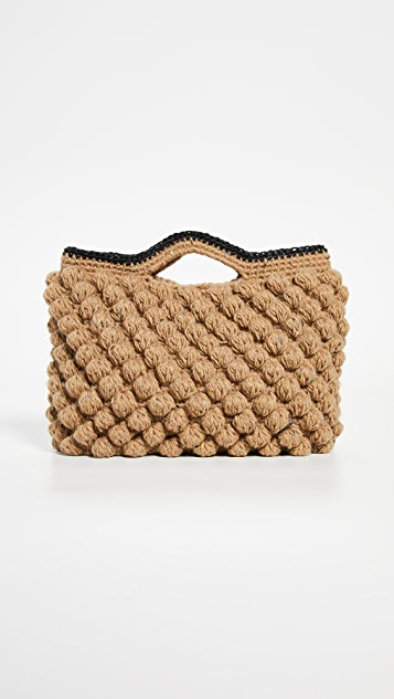 Woven Tote Bag by Caterina Bertini