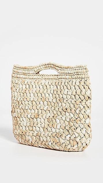 Caterina Bertini Woven Tote Bag
