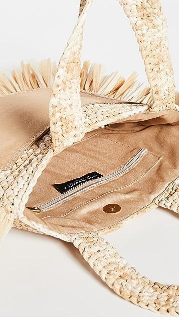 Caterina Bertini 编织手提袋