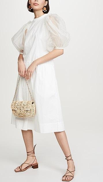 Caterina Bertini 编织肩背包