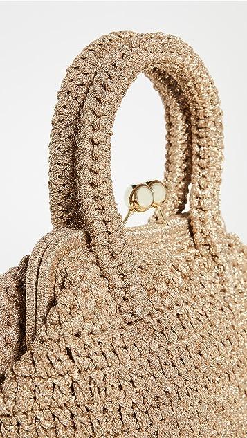 Caterina Bertini 迷你梭织手提袋