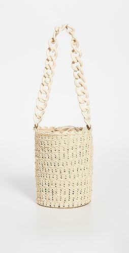 Caterina Bertini - Chain Strap Small Bucket Bag