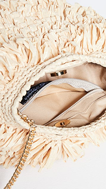 Caterina Bertini Natural Crossbody Bag