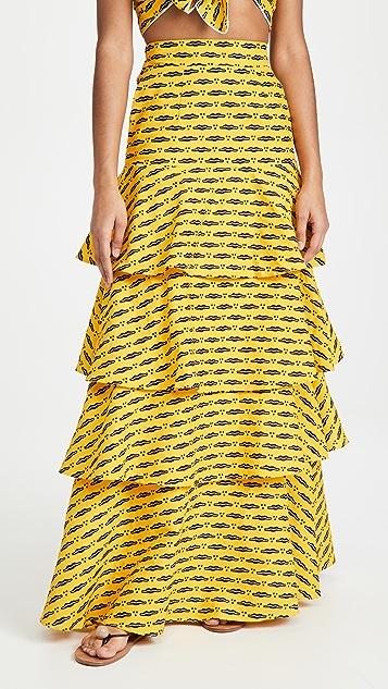 Chen Burkett Sunny Maxi Skirt