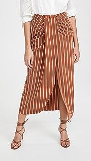 Chen Burkett Verona Stripe Skirt