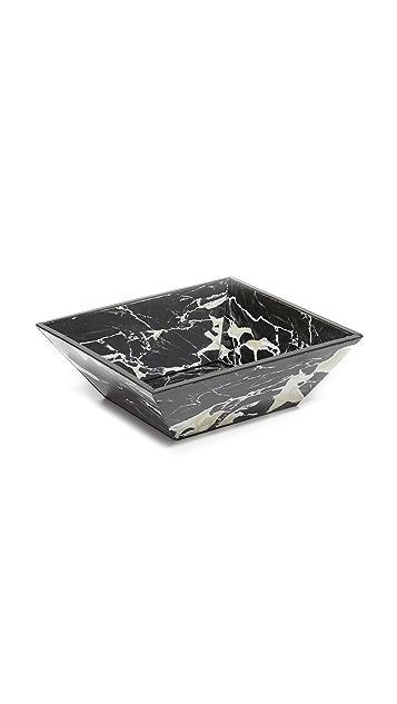 Carla Carstens Noir Marble Acrylic Catchall Dish