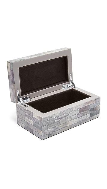 Carla Carstens Melange Bone Petite Rectangular Box