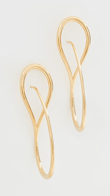 Charlotte Chesnais Needle Hoop Earrings