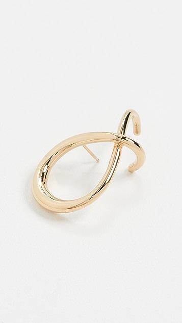 Charlotte Chesnais Crisscross Earring