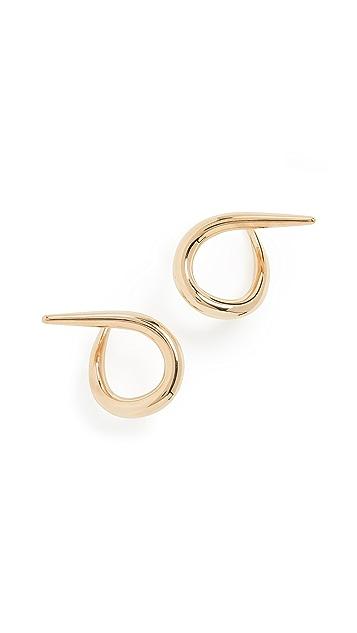 Charlotte Chesnais Punk Hoop Earrings