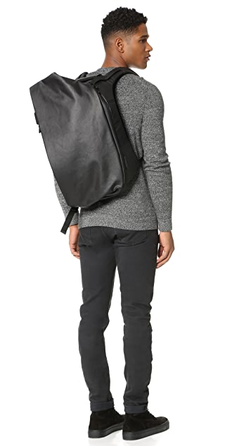 Cote & Ciel Isar Coated Canvas Medium Backpack