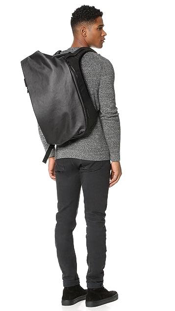 Cote & Ciel Isar Coated Canvas Medium Backpack
