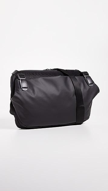 Cote & Ciel Riss Obsidian Messenger Bag