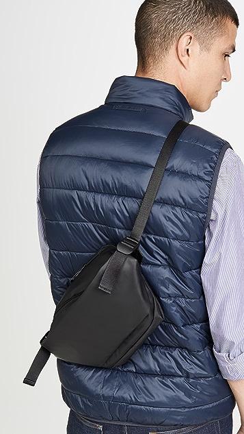 Cote & Ciel Isarau Small Obsidian Waist Bag