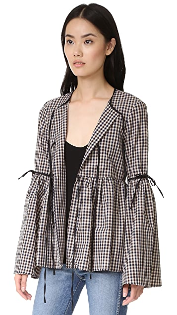 Caroline Constas Michal Bell Sleeve Jacket