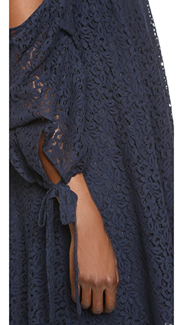 Caroline Constas Gabriella Lace Dress