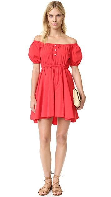 Caroline Constas Bardot Dress