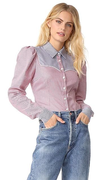 Caroline Constas Clementine Shirt