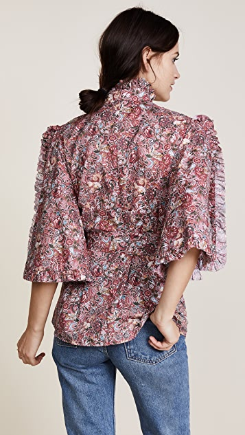 Caroline Constas Hope Blouse