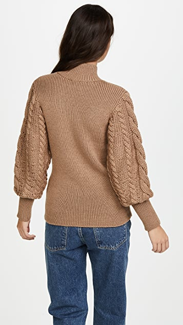 Caroline Constas Chunky Cable Knit Sweater | SHOPBOP