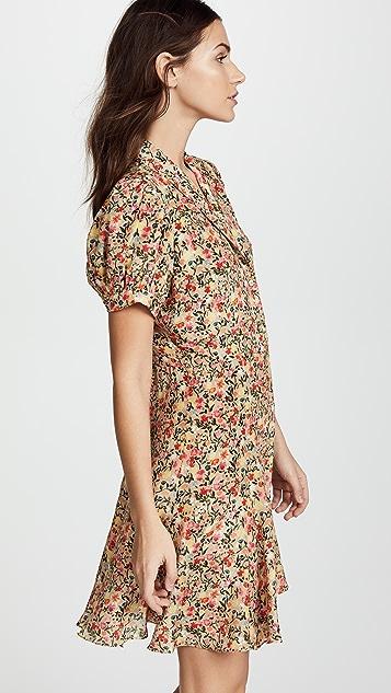 Caroline Constas Short Sleeve Dress