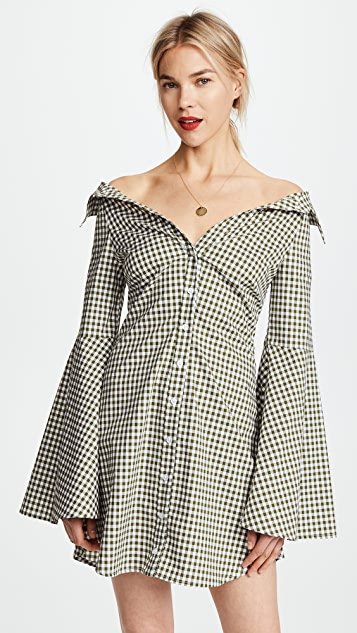 Caroline Constas Persephone Mini Dress