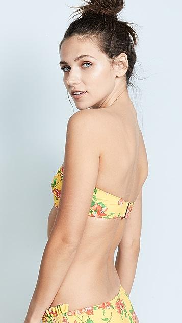 Caroline Constas Mer Adros Bandeau Bikini Top