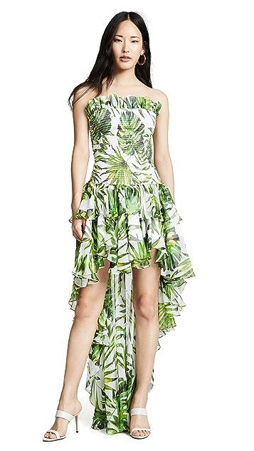 Caroline Constas Lola Smocked Dress