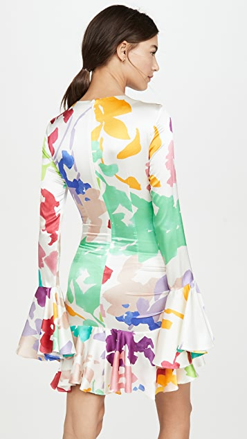 Caroline Constas Monique Mini Dress
