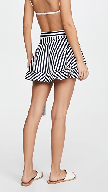 Caroline Constas 沙滩半身裙