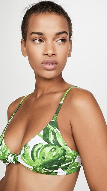 Caroline Constas Marta Bikini Top
