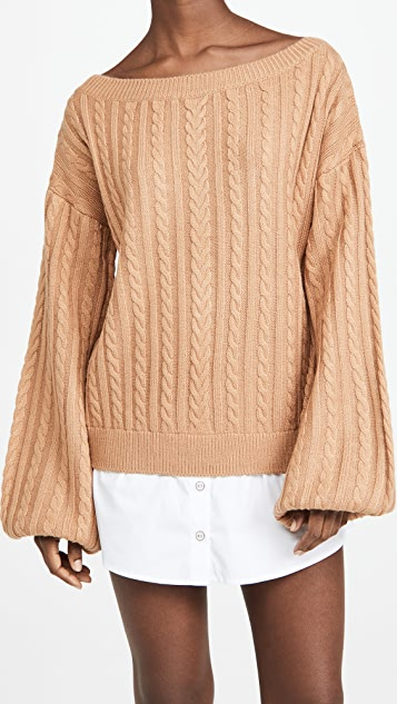 Caroline Constas Gloria Sweater Dress