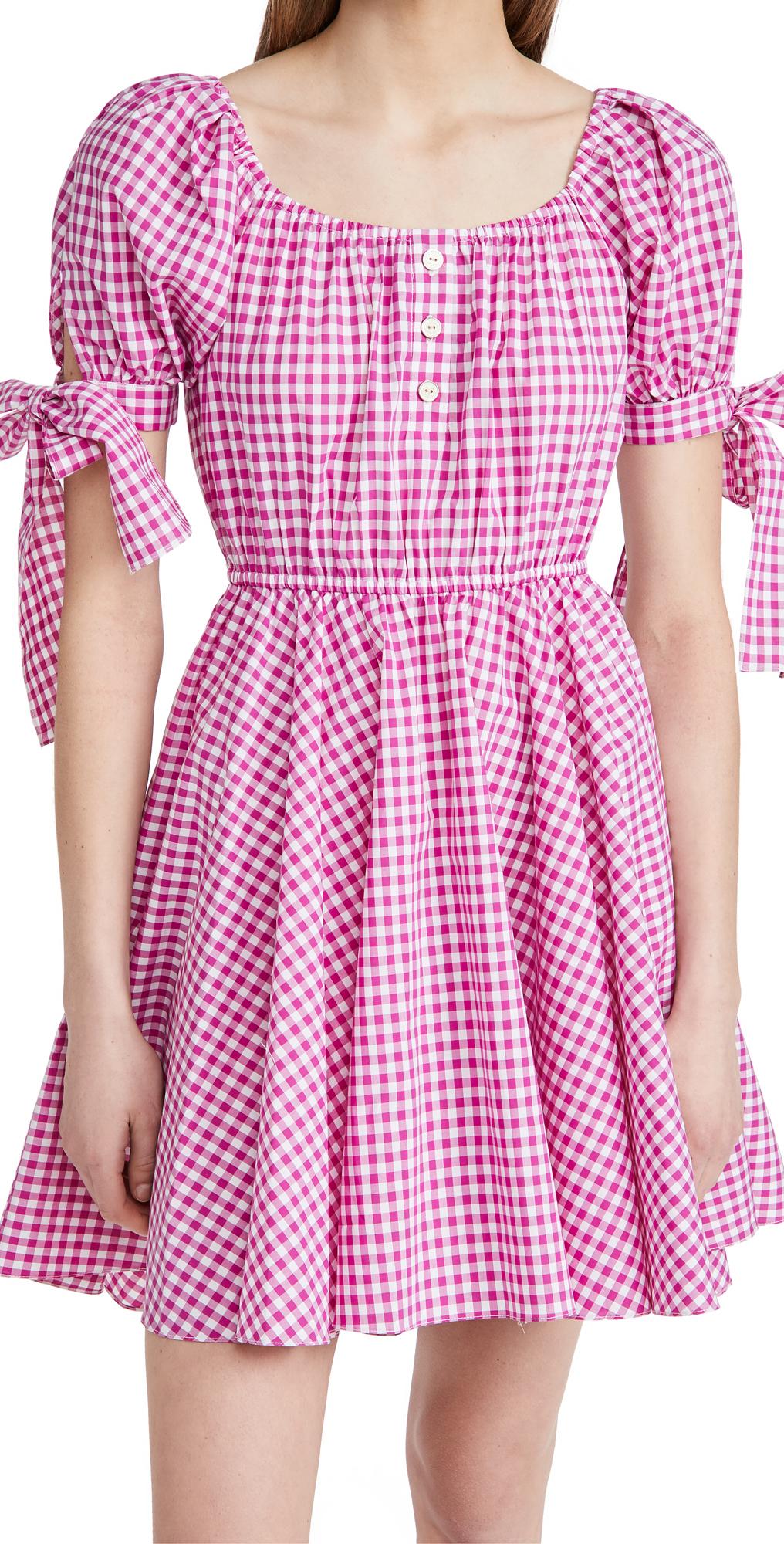 Caroline Constas Bardot Dress