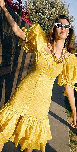 Caroline Constas - Nella Midi Dress