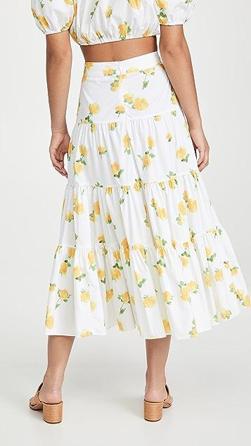 Caroline Constas Peasant Skirt