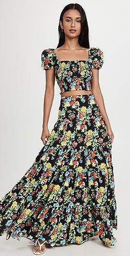 CAROLINE CONSTAS - Peasant 半身裙
