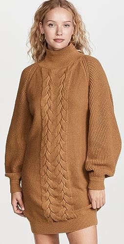 CAROLINE CONSTAS - Cable Knit Dress