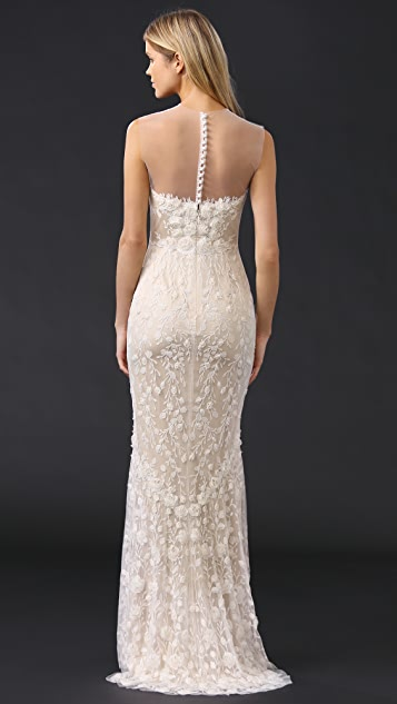 Catherine Deane Ashton Embellished Tulle Gown