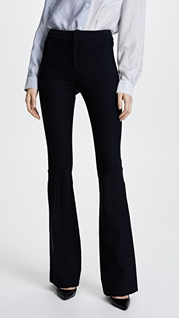 Derek Lam 10 Crosby Flare Trousers - Midnight