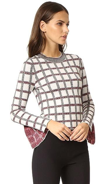 Derek Lam 10 Crosby Long Sleeve Sweater