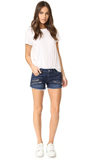 Derek Lam 10 Crosby Quinn Slim Girlfriend Cutoff Shorts