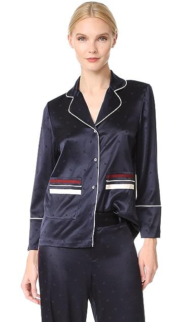 Derek Lam 10 Crosby Pajama Blouse