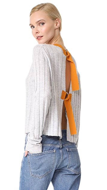 Derek Lam 10 Crosby Open Back Sweater