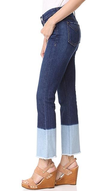 Derek Lam 10 Crosby Jane Mid Rise Flare Jeans